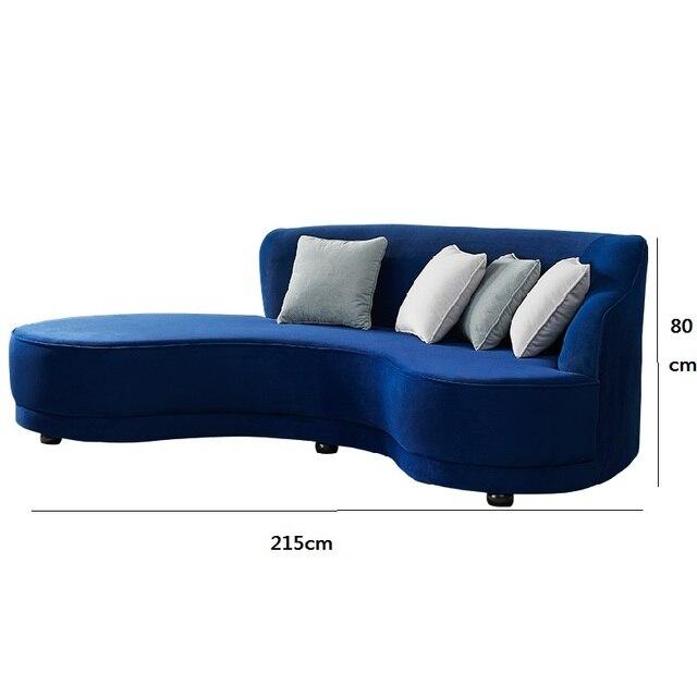 Velvet Living Room Sofa  6