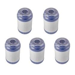 5 sztuk/zestaw 5 Cal filtr do wody Udf ziarnisty węgiel aktywny wkład do filtra smak/zapach filtr wody do odwróconej osmozy w Filtry do wody od AGD na