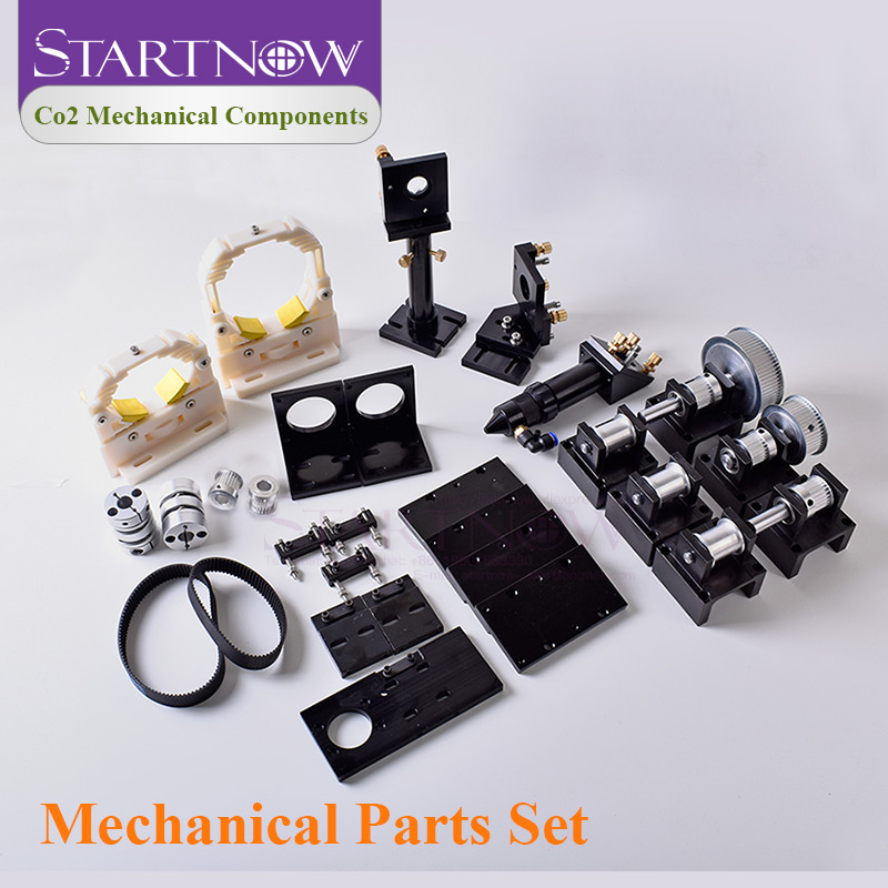 DIY Laser Metal Transmission Hardware Parts Laser Head Set CO2 Laser Mechanical Components For Laser Cutting Engraving Machine