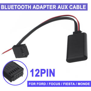 Car-Bluetooth-Adapter Aux-Module Fusion Fiesta Ford Focus Mondeo Cable 12V Mondeo/C-max/Fusion/..