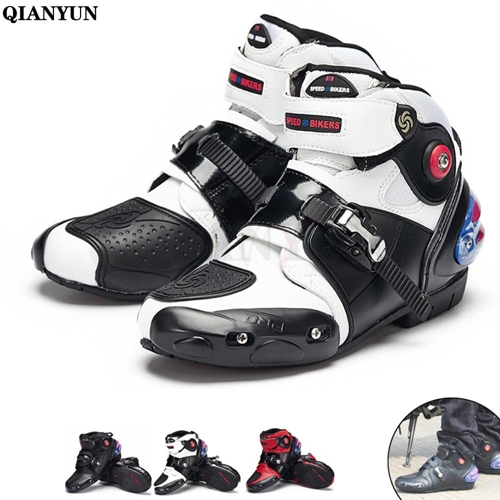 Motorrad Reiten Atmungsaktive Stiefel Moto/Motocross Ankle Motorrad Biker Touring Bots Schuhe für Männer Frauen