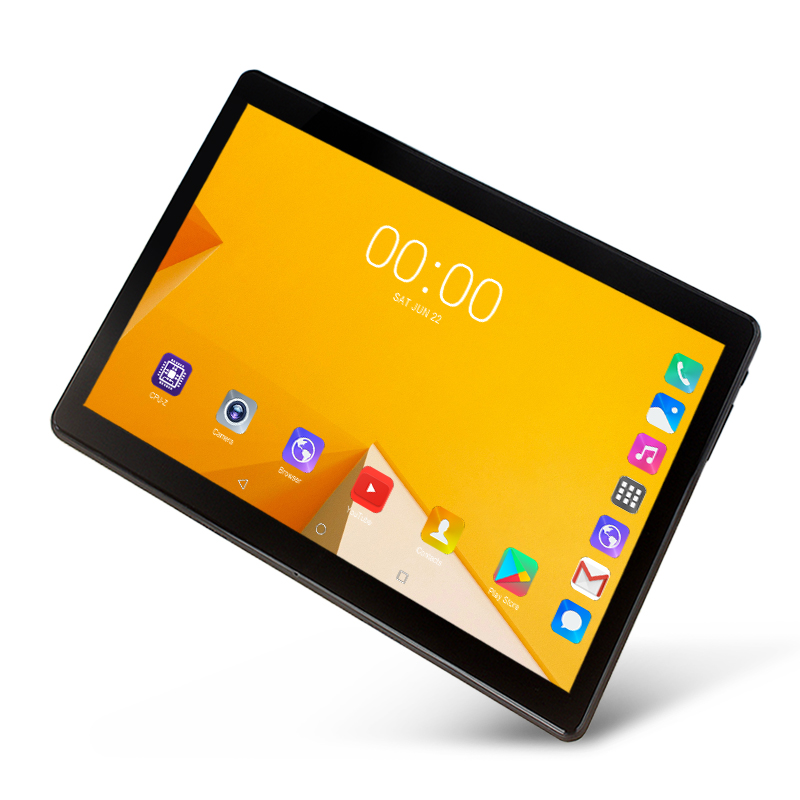 2019 New 10.1 Inch 3G 4G LTE Tablet PC Android 9.0 Octa Core 6GB RAM 128GB ROM  WIFI GPS 2.5D Tempered Screen 10