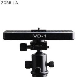 Mobile Slide Rail Cloud Platform Camera Slider Mini Video Track