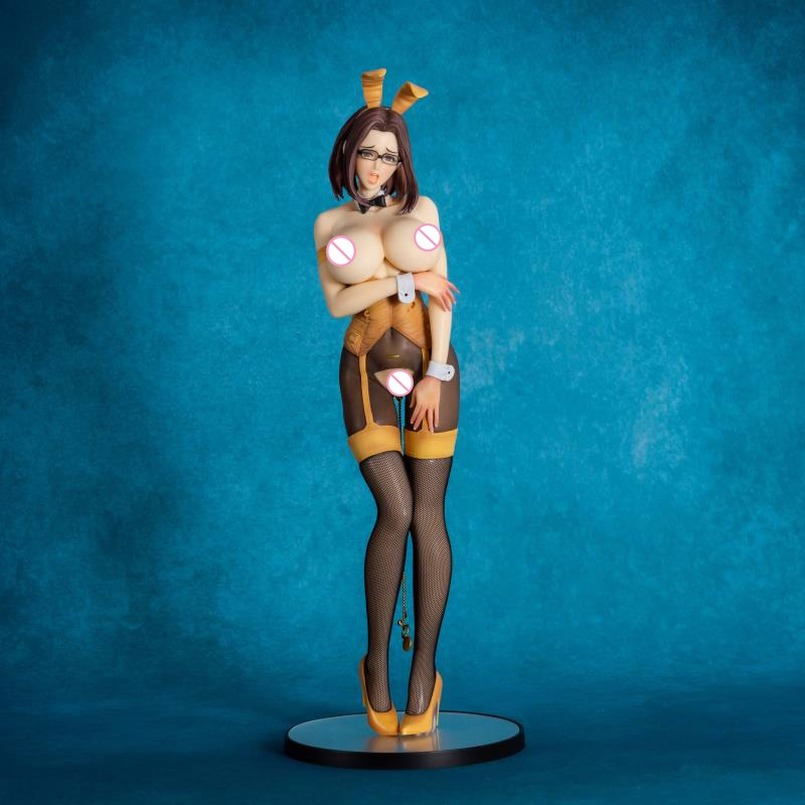 41cm Native Non Virgin Bunny Girl Sexy Girls Action Figure Japanese Anime PVC Adult Action Figures Toys Anime Figures Toy