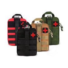 Tragbare Tactical First Aid Kit Medical Tasche Für Wandern Reise Home Notfall Behandlung Fall Überleben Werkzeuge Military EDC Pouch