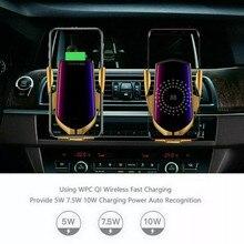 Wireless Automatic Clamping Smart Sensor Car Phone Holder an