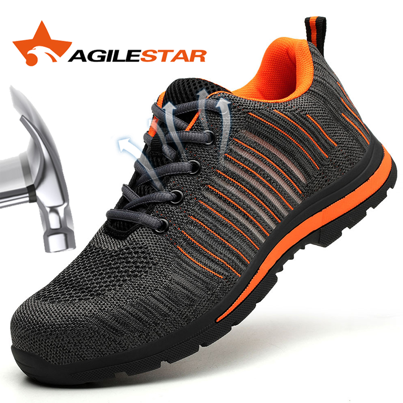 Steel Toe Work Shoes Safety Boots Anti