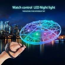 Mini Drone UFO Dron With Camera Gesture Gravity Induction Drones Quadcopter Anti collision Magic Hand UFO Ball Aircraft Kids Toy
