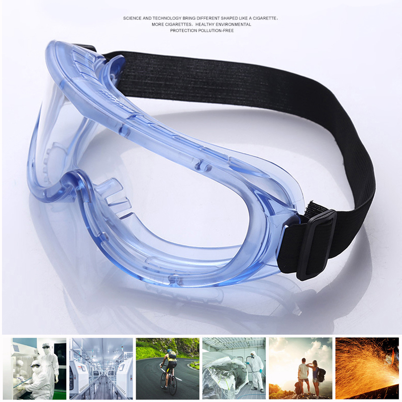 Safety Protective Goggles Anti Fog Dust Glasses Eye Protection Fully Sealed Sport Windproof Dust-proof Protection Glasses