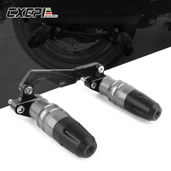MOTO Accessories Crash pads exhaust sliders crash protector Adjustable Exhaust Pipe Sliders Falling Protection for ADV150 adv150