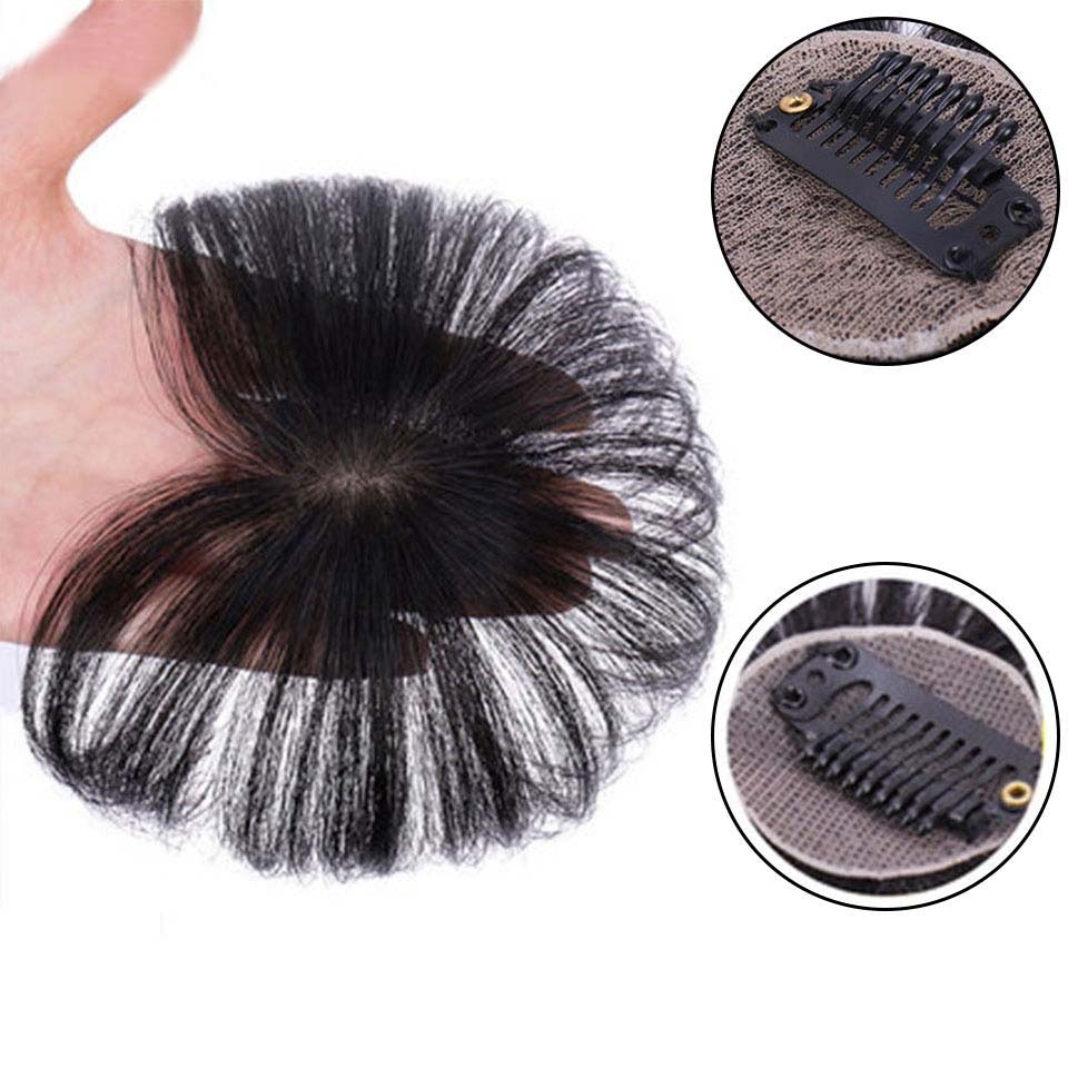 SHANGKE Women's Seamless Invisible Comfortable Hair Top Cover Natural synthetic Color Brazilian hair
