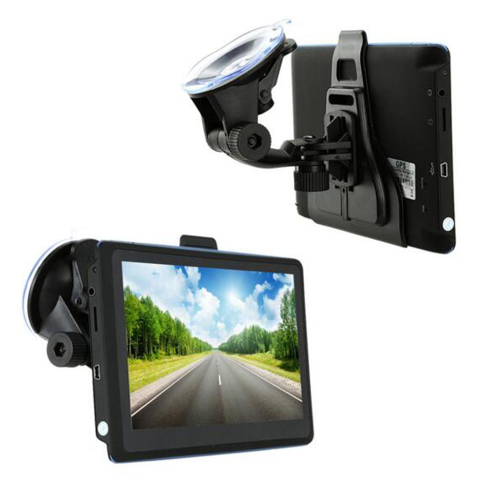7 дюймов автомобиль грузовик gps навигатор емкостный Экран gps навигации 2019 Карты для Европа, Южная/Северная Америка nawigacja samochodowa