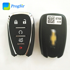 Image 5 - Mando a distancia Original de 5 botones, 433MHz, para Chevrolet Camaro Cruze Malibu con Chip PCF7937E Hitag2 ID46