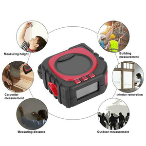 Image 5 - Laser Rangefinder Digital Tape Multifunctional 3 in 1 Measuring Tool Laser Level Laser Range Finder LCD Digital Display