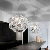 Simple Simple Modern Laser Lights Acrylic Transparent Nordic Living Room decoration Bedroom Lamp Hope Apple Cafe Pendant Light