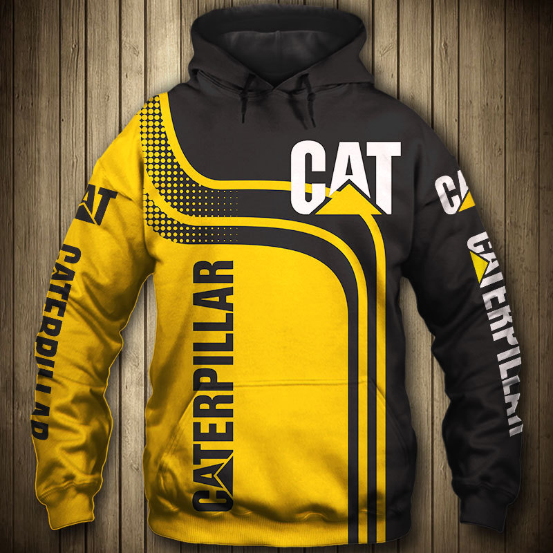 Excavator Equipment Worker Machine Fashion Tracksuit Casual 3D Printed hoodies and sweatshirts men clothes 2020 yellow pullover