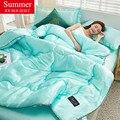 WOSTAR моющееся летнее охлаждающее воздушное одеяло из вискозы, тонкое одеяло, домашний текстиль для взрослых и детей, роскошное постельное бе...