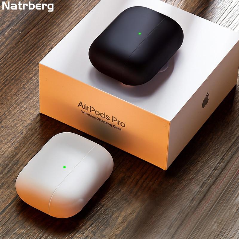 Liquid Case for Airpods Pro Case Soft Silicone Protective Matte Cover Silm Accessory for Apple Airpod Air Pods Pod Pro Case
