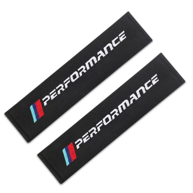 Накладка для ремня безопасности автомобиля стайлинга автомобилей Авто чехол для BMW M Мощность производительность M3 M5 X1 X3 X5 X6 E46 E39 E36