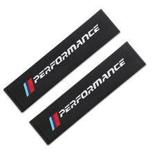 Capa de cinto de segurança do carro estilo do carro caso para bmw m desempenho potência m3 m5 x1 x3 x5 x6 e46 e39 e36