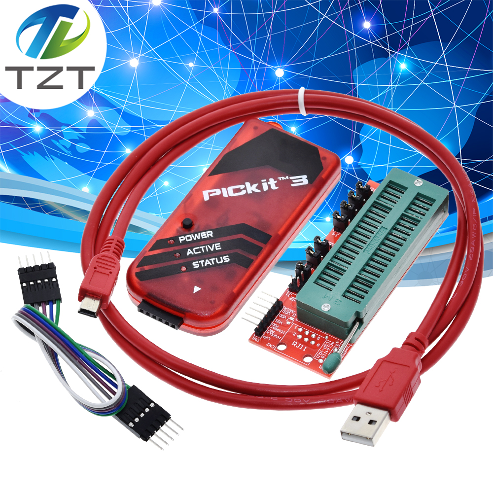 Programmer-Adapter PICKIT Microcontroller-Chip Monopoly TZT KIT3 Seat Offline