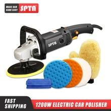 SPTA 220V 7inch Rotary Polisher for RU Car Beauty Tool Electric Car Polisher Machine Auto Polishing Machine Waxing Tools