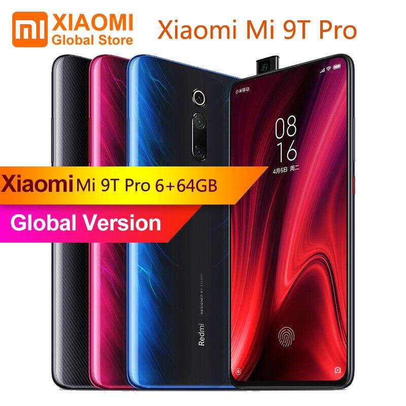 Nouvelle Version mondiale Xiao mi mi 9T Pro (rouge mi K20 Pro) 6 go de RAM 64 go de téléphone Mobile Snapdragon 855 Octa Core 48MP Cam