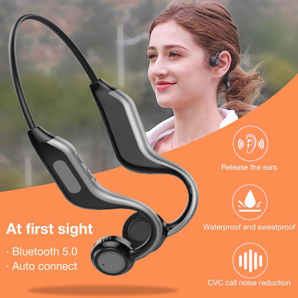 Беспроводные Bluetooth Наушники V4.1 Hands Free наушники с стерео шумоподавлением микрофон, совместимые iPhone Android Сотовые телефоны Dri - 3