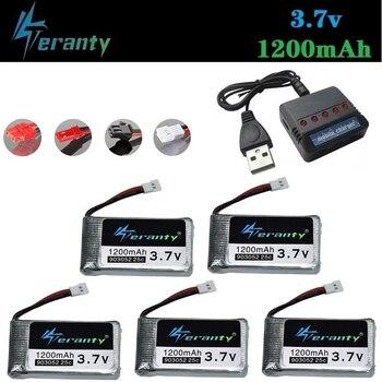 3,7 V 1200mah Akku für KY601S für Syma X5c X5 X5SC X5SW M18 H5P RC Drone Quadcopter 903052 lipo batterie Ladegerät