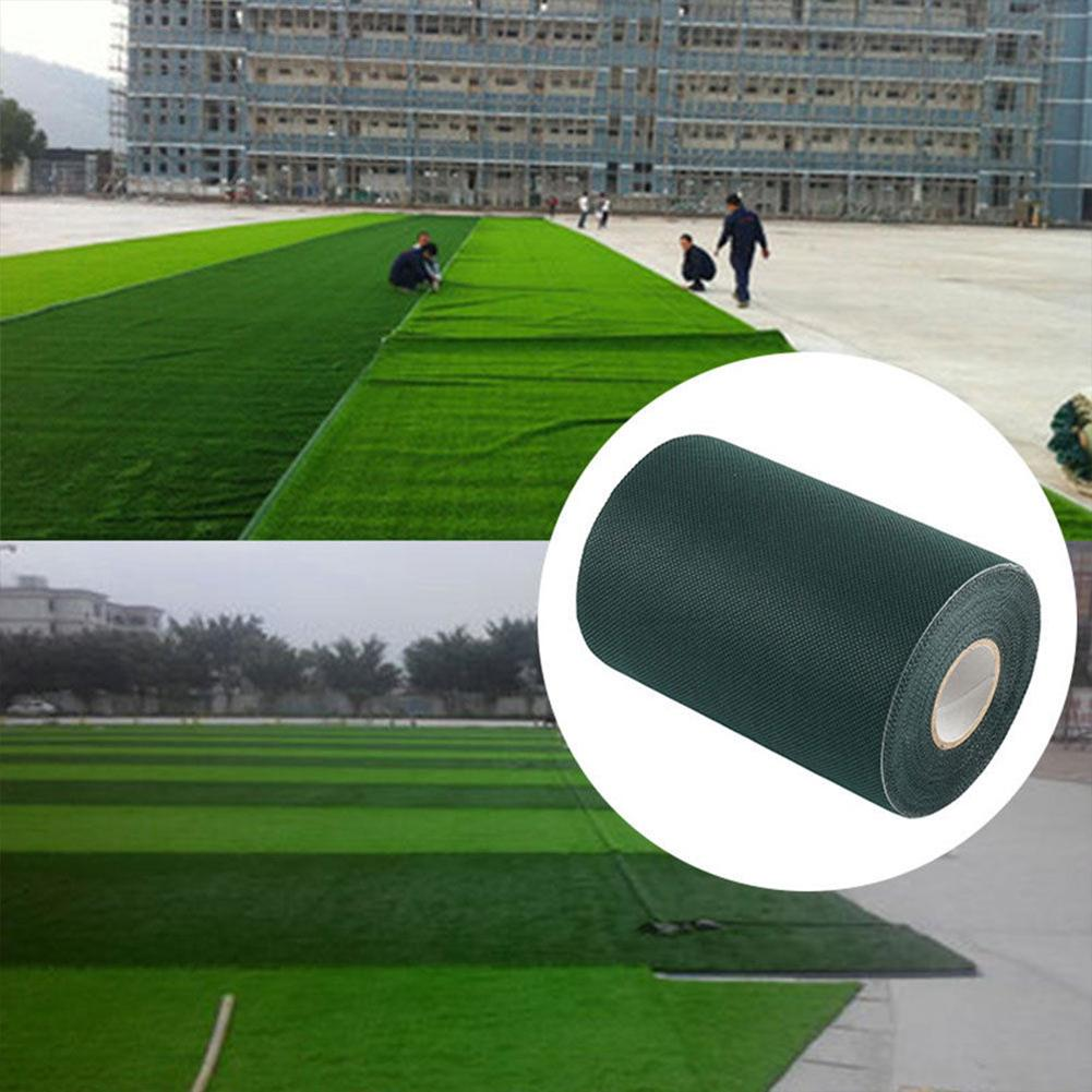 15x1000cm Synthetic Lawn Grass Carpet Garden Joining Green Tape Artificial Grass Turf Seaming Decoration Grass Jointing Tape