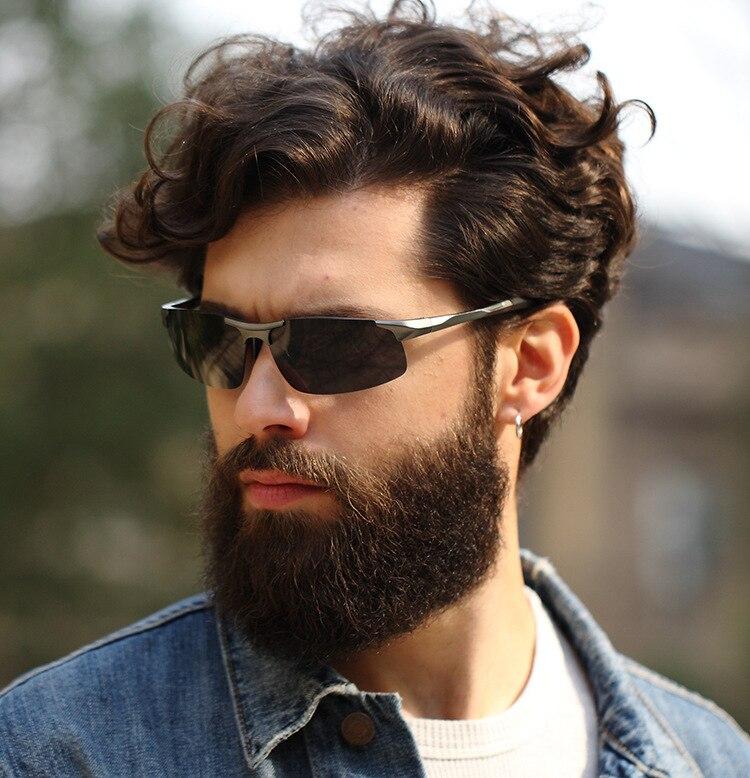 Bruno Dunn Driving polarized Men sunglasses 2020 sports High Quality UV400 Aluminum sun glasses for male oculos de sol masculino 6