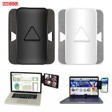 Duplo/triplo monitor de exibição clipe suporte portátil montagem lateral tablet telefone conecta suporte para ipad multi suporte tela
