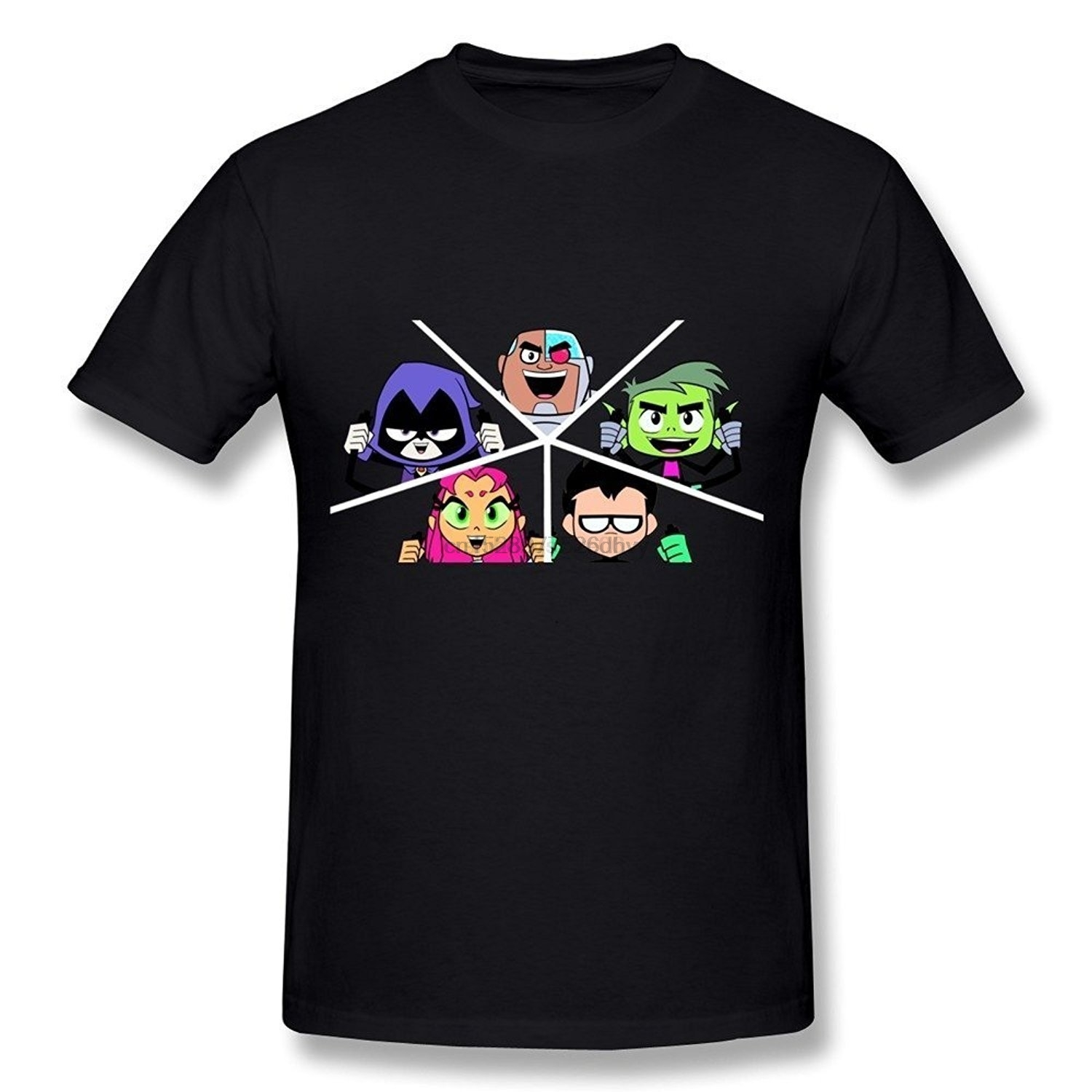 Teen Titans Go Robin Raven Custom Personalize Birthday Party Favor Gift T-Shirt