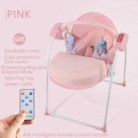 Intelligent rocking chair baby chair comfort swing intelligent electric rocking chair baby with baby sleep cradle