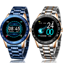 LIGE 2020 New Smart Watch Men LED Screen Heart Rat