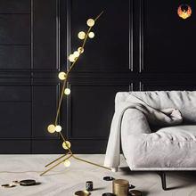Европейская роскошная Напольная Лампа современный светодиодный