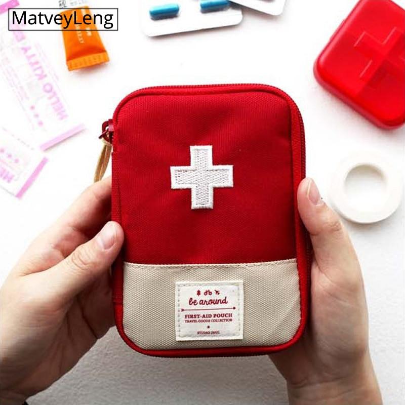 Portable travel medicine bag, medicine bag, household first aid small medicine bag, emergency bag medicine storage