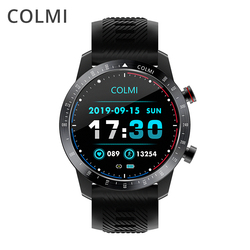 Colmi Sky 6 Smart Watch Pria IP68 Tahan Air Full Touch Kebugaran Tracker Anti Smart Clock Tekanan Darah Smartwatch