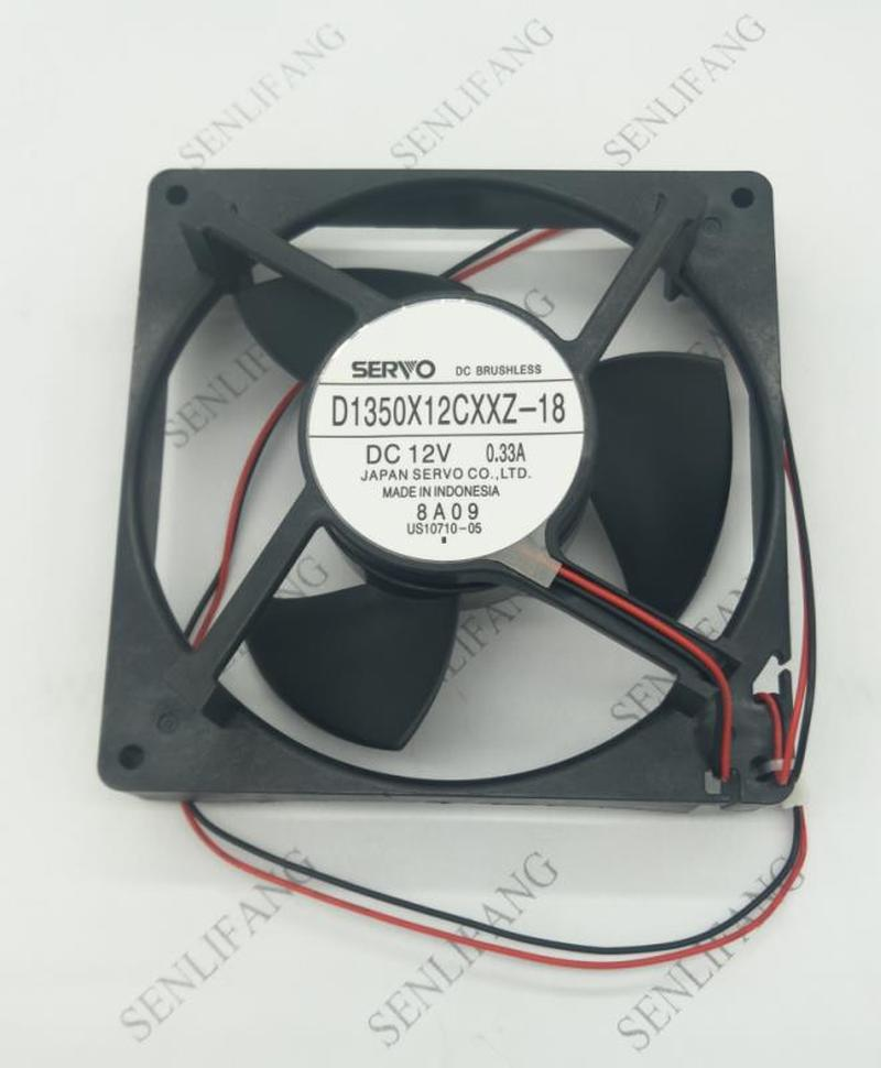 New Original Dc 12v Refrigeration D1350X12CXXZ-18 0.33A Refrigerator Freezer Refrigerators Compressor Fan