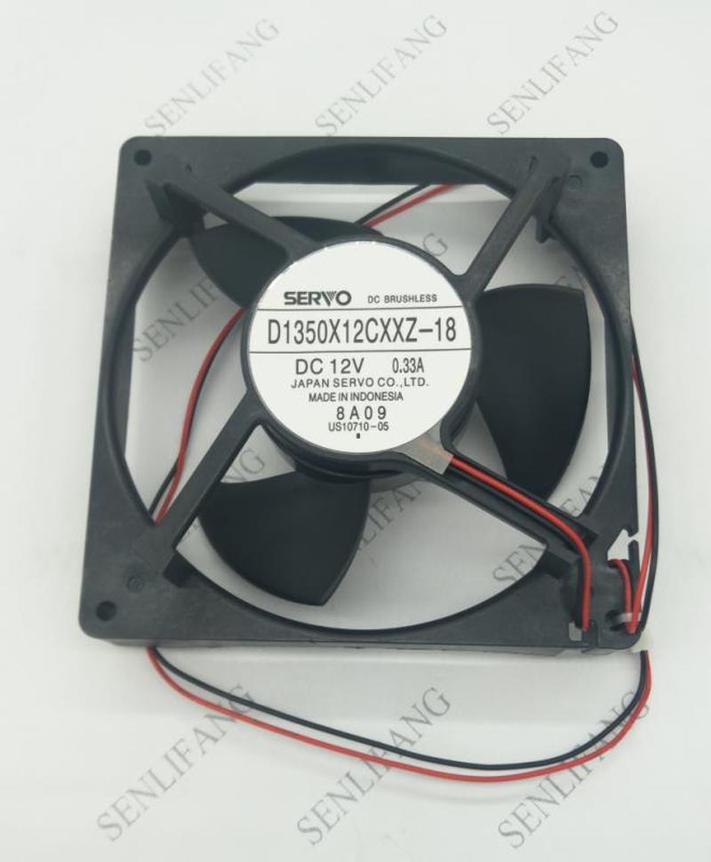 New Original Dc 12v Refrigeration D1350X12CXXZ-18 0.33A Refrigerator Freezer Refrigerators Compressor Fan