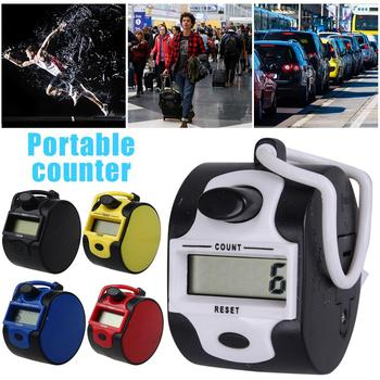 Electronic Counter Small Portable Human Passenger Traffic Digital Handheld Counter with Manual Digit