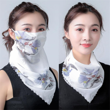 Handkerchief Protective Scarf Face-Mask Riding-Masks Outdoor Lightweight