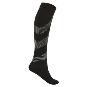 Mężczyźni kobieta skarpetki pończochy uciskowe ciśnienie żylaki Stocking kolana wysokie ulga dla nóg Stretch ciśnienie skarpety piłkarskie tanie i dobre opinie Piłka nożna