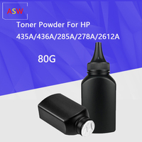 80G  Black Toner Powder for HP CB436A 436A 435A 388A 278A CE285A 285A for Canon 328 326 912 325 725 925 313 713 Laser Printers