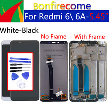 "5.45"" Original For Xiaomi Redmi 6 Redmi6 Touch Screen Digitizer LCD Frame Assembly Replacement For Redmi 6A LCD Display 1440*720"