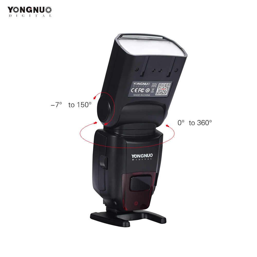YONGNUO YN862C Speedlite Đèn LED Không Dây TTL Flash Máy Ảnh Chủ Nô Lệ Speedlite cho Canon 5D IV/6D/7D /40D/650D/1200D/EOS R