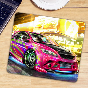 Patterned Car Gaming Mouse Pad Desk Keyboard Mause Mice Mat Anti-slip Natural Rubber PC Computer Gamer Mousepad image