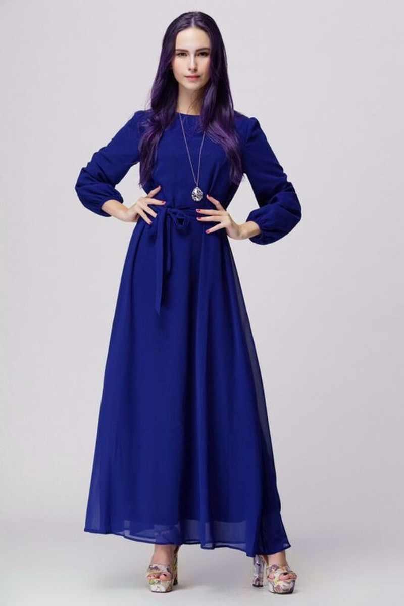 Muçulmano abaya vestido feminino rendas chhiffon a linha hijab médio oriente turquia islâmico marroquino kaftan modesto elbise jubah vestidos
