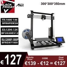 Anet A8 Plus 3D 프린터 키트 자체 어셈블리 300*300*350mm 이동식 LCD 제어판 과전류 보호 메인 보드
