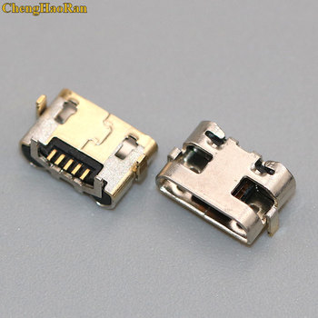 ChengHaoRan 500pcs For Huawei Y5 II CUN-L01 Micro USB jack Charging Port Charger Connector socket power plug dock Replacement